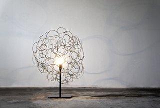 The Roommate lamp, designed by Ayoko Aratani.