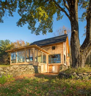 Vermont Barn to High Performance Home