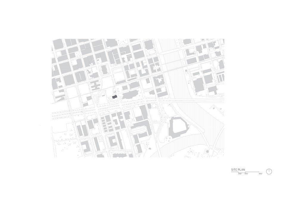 Site Plan Drawing  Whiteline Residence