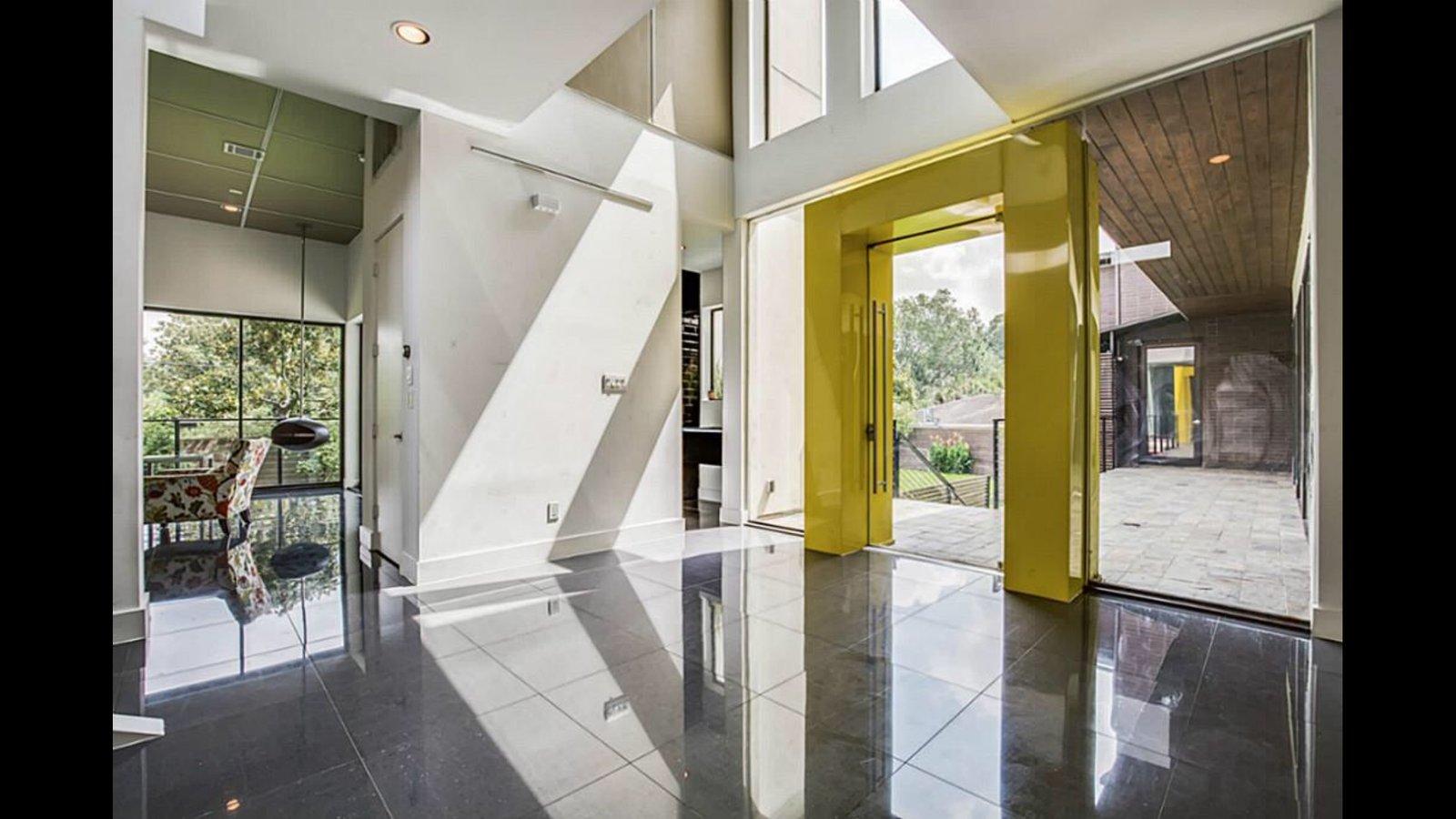 Doors, Interior, Metal, and Swing Door Type Entrance  The Peña Home