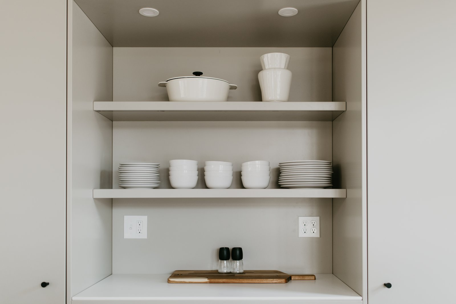 Storage Room and Shelves Storage Type Open shelving   North Shore #7 by Hygge Supply
