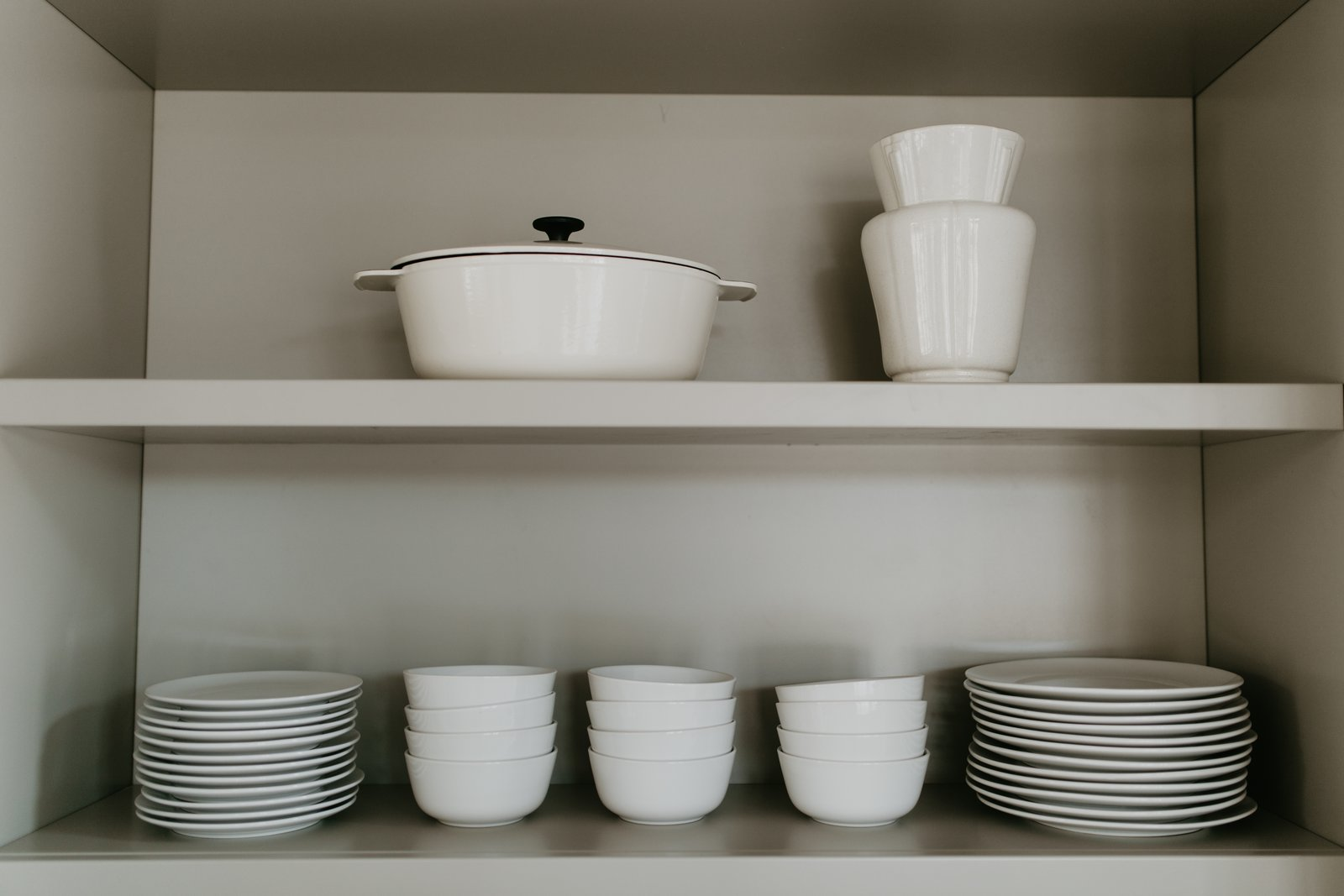Kitchen Open shelving in kitchen  North Shore #7 by Hygge Supply