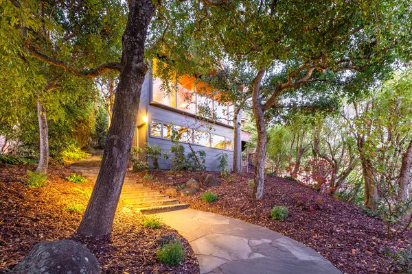 Mid-Century Retreat in Berkeley