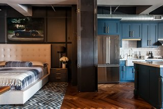 Floor:  Herringbone wood floor by Havwoods