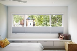 Window seat at Master Suite