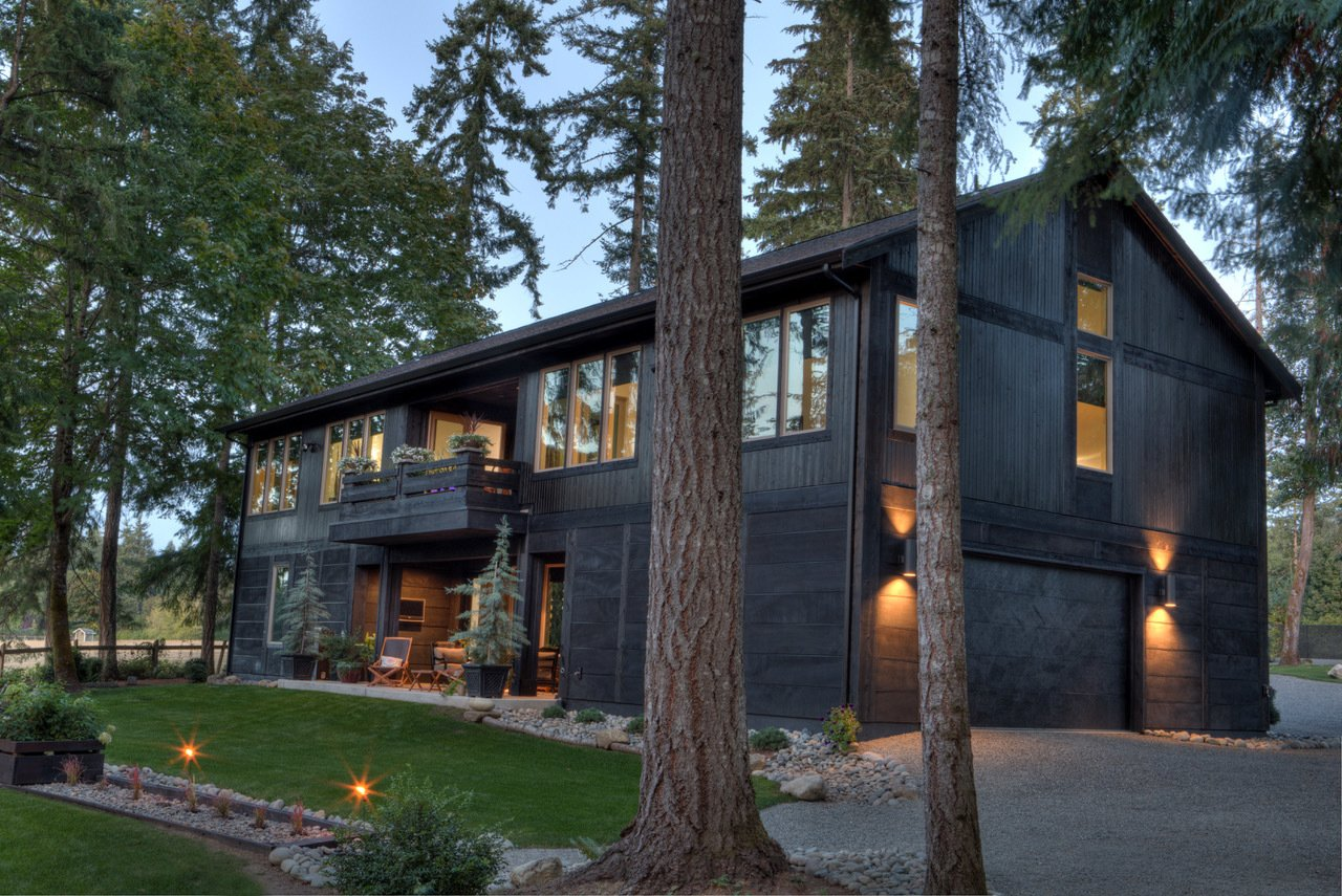Bentley Longhouse Modern Home In Gig Harbor Washington By