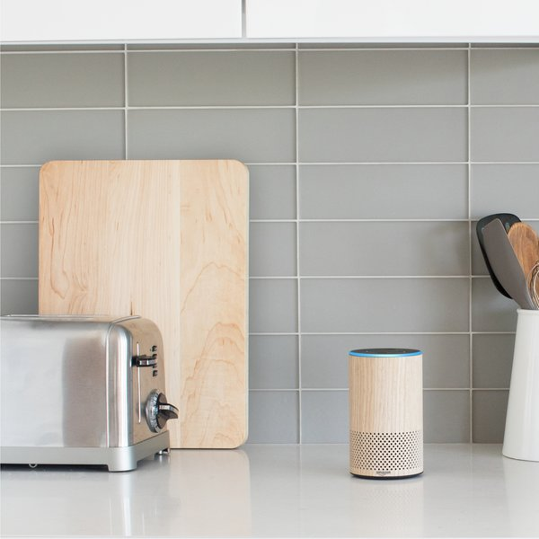 A smart Bluetooth speaker equipped with an AI assistant named Alexa, the Amazon Echo can play music, read top news stories, define terms, perform web queries, and more.
