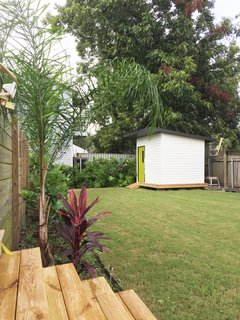 Back Yard and Shed