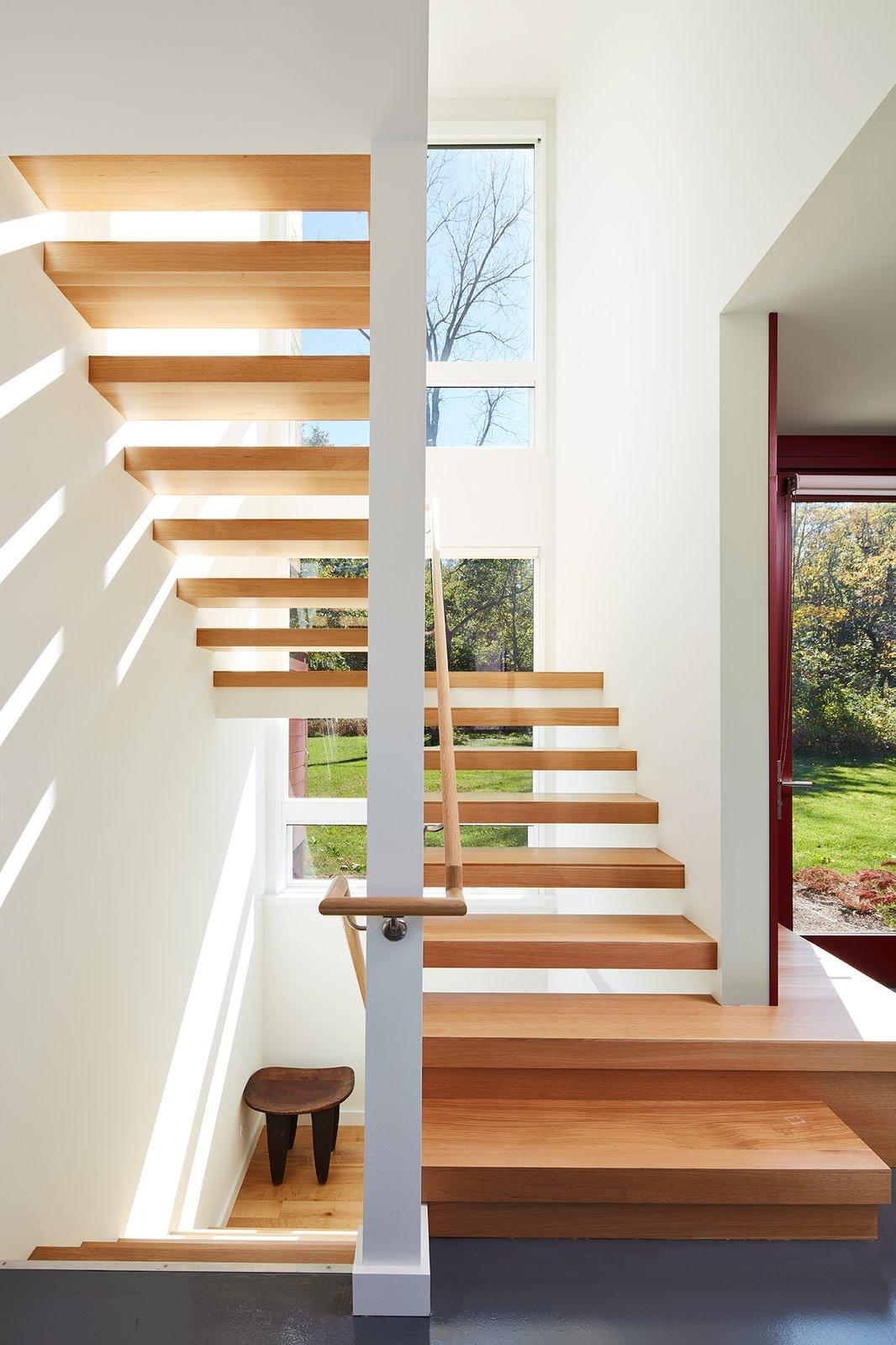 Farmhouse Retreat by von Weise Associates staircase