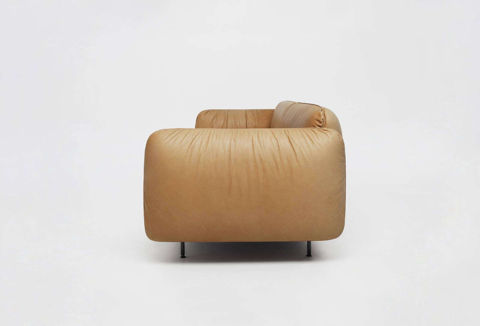 Living Room and Sofa Sofa C01 by Foraine  Saint-Laurent Apartment by Atelier Barda