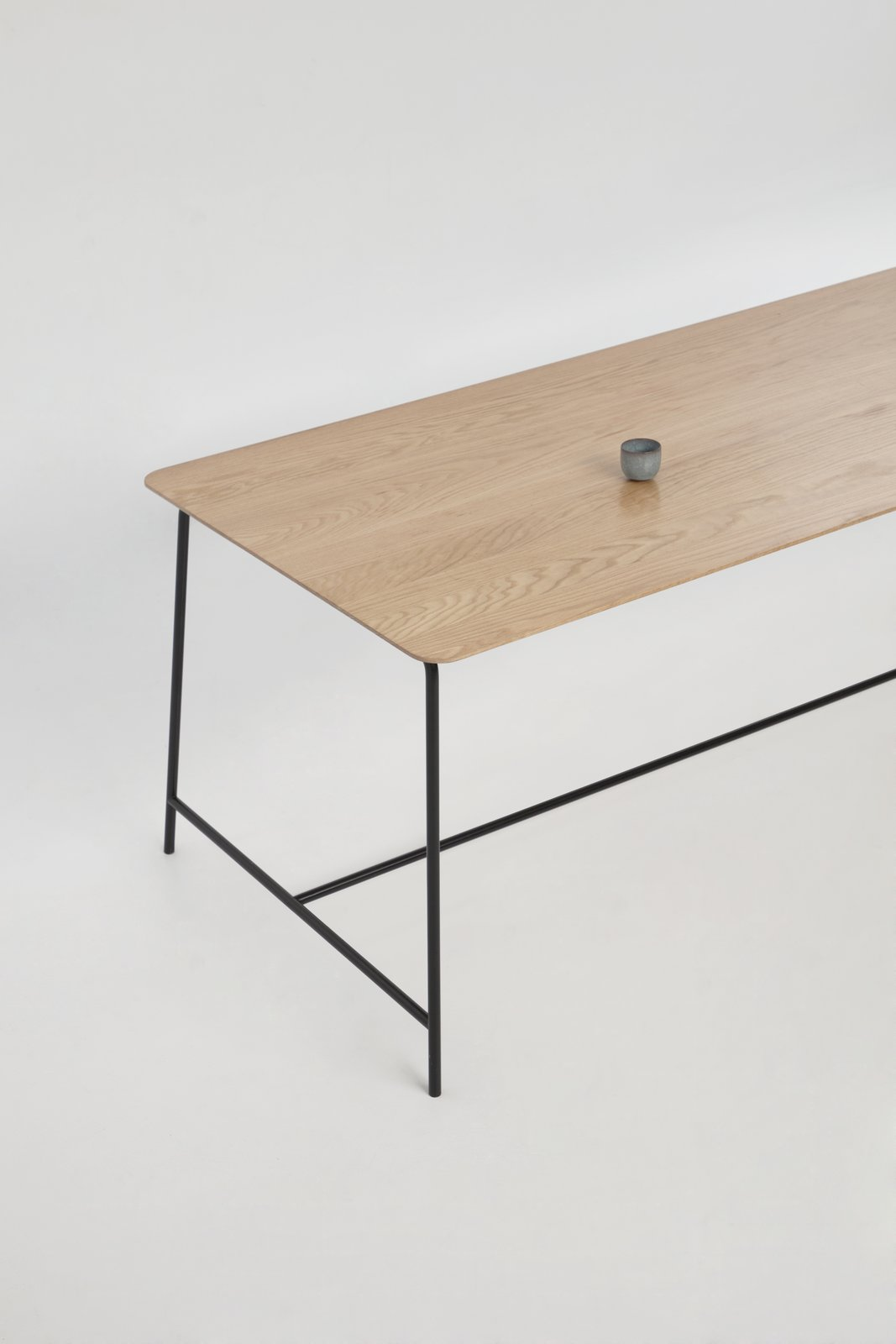 Dining Room and Table Dinning table T01 by Foraine  Saint-Laurent Apartment by Atelier Barda