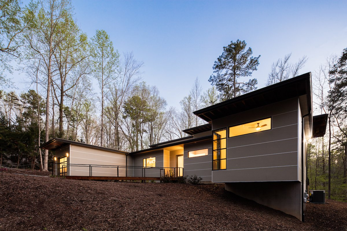 Professor\'s House Modern Home in Chapel Hill, North Carolina by… on ...