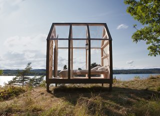 Launched by Visit Sweden, the cabins and the stress study could be easily written off as a tourism board gimmick—but they shouldn't. The tiny glass cabins tap into a growing need to disconnect from a tech-driven world. To give the structures a true sense of place, the cabins were built of locally-sourced materials and designed by Jeanna Berger, daughter of the owners of Henriksholm, a privately-owned, three-mile-long island in western Sweden.