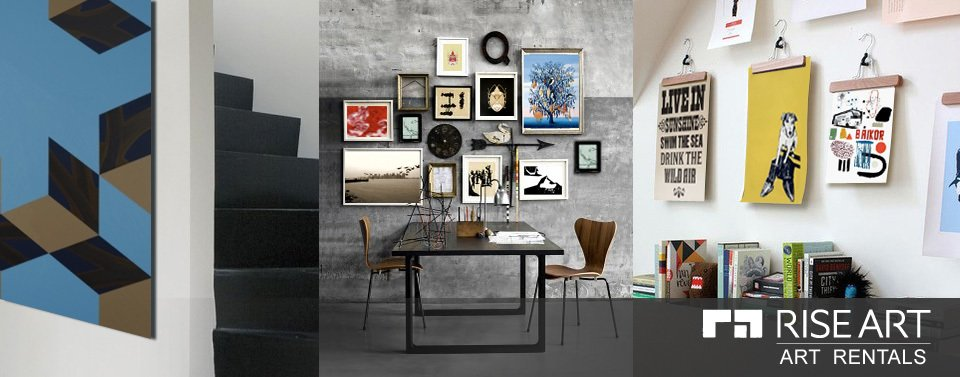 acdfcb3c26 Rise Art offers art you can test drive in your home for a monthly cost.