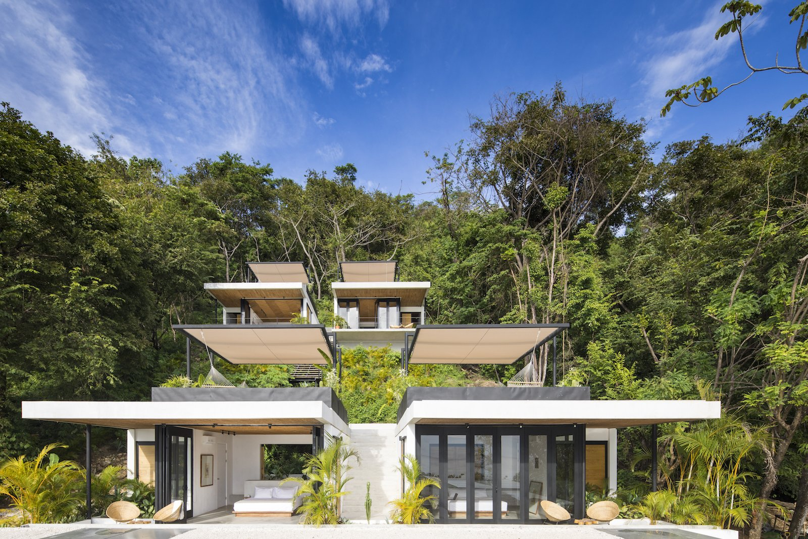 Exterior Backed by greenery and set facing the Pacific Ocean, each suite at the hotel takes in the best of Santa Teresa's landscapes.  Photo 1 of 11 in Revive Your Mind at This Adults–Only Boutique Hotel in Costa Rica