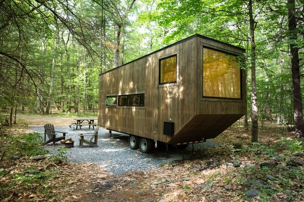 The Getaway Cabins start at $125 a night.