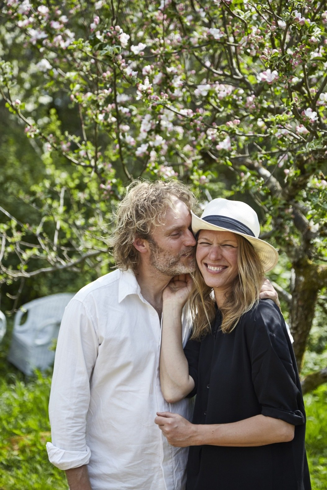 Outdoor Here are the Stedsans in the Woods founders, Flemming Hansen and Mette Helbæk.    Photo 5 of 18 in This Swedish Permaculture Retreat Is a Foodie's Paradise