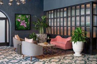 Best 60 Modern Living Room Porcelain Tile Floors Design