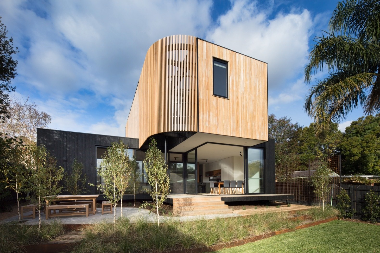 Photo 1 of 18 in A Melbourne Home Gains a Marvelous Modular Addition