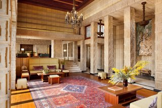 Frank Lloyd Wright S Iconic Ennis House Is Listed For 23m Dwell