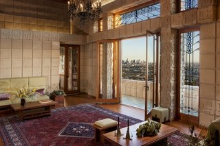 Of the many architectural landmarks in Los Angeles, few are as iconic of Hollywood's film industry as the Ennis House, which hit the market after a $17,000,000 renovation.
