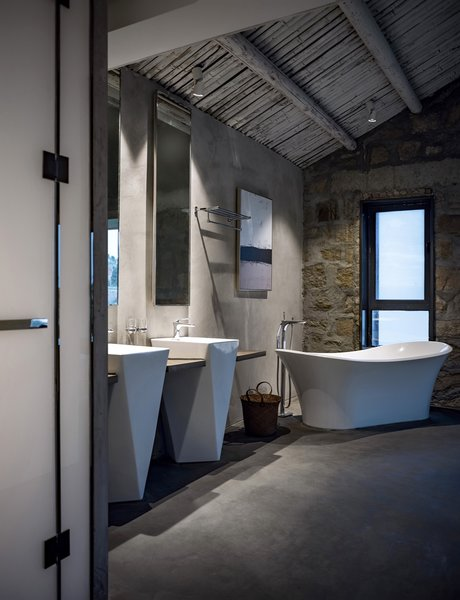 Best 54 Modern Bathroom Concrete Walls Design Photos And Ideas - Dwell