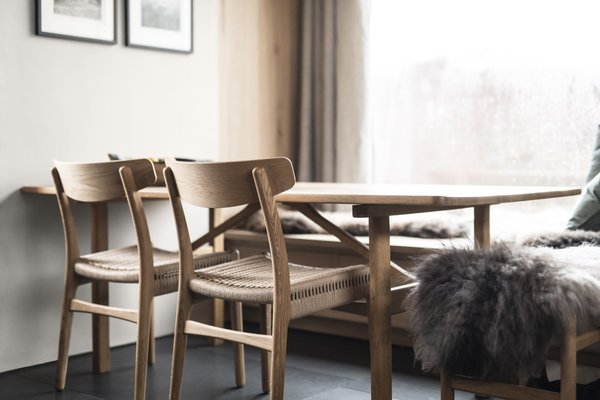 Carefully curated furnishings combine Scottish craftsmanship with Nordic design.