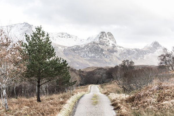 The remote getaway sits in a wild and diverse landscape in the far north of Scotland.