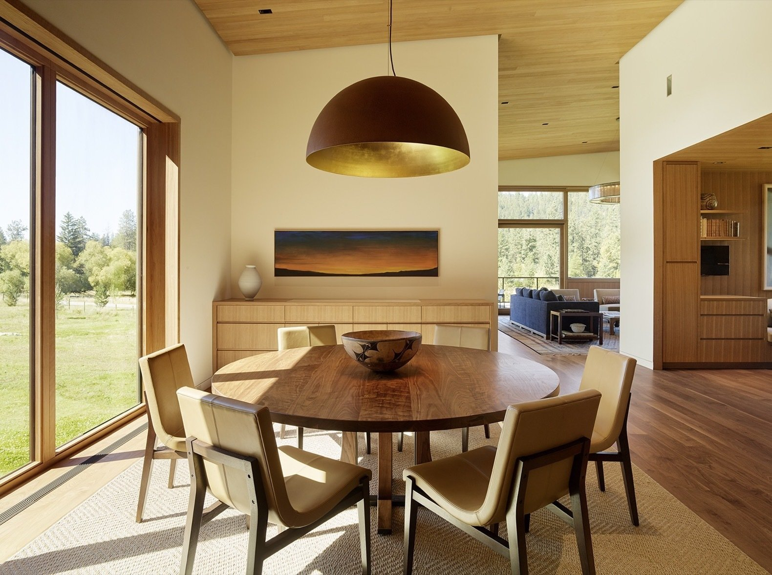 RCR Compound by Carney Logan Burke Architects dining room