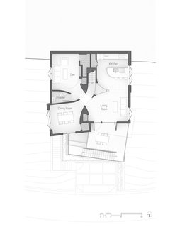 The Stack House level-three floor plan