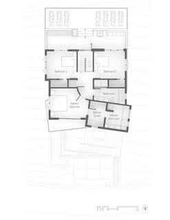 The Stack House level-four floor plan