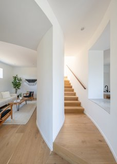 French oak flooring in a natural finish has been used throughout.