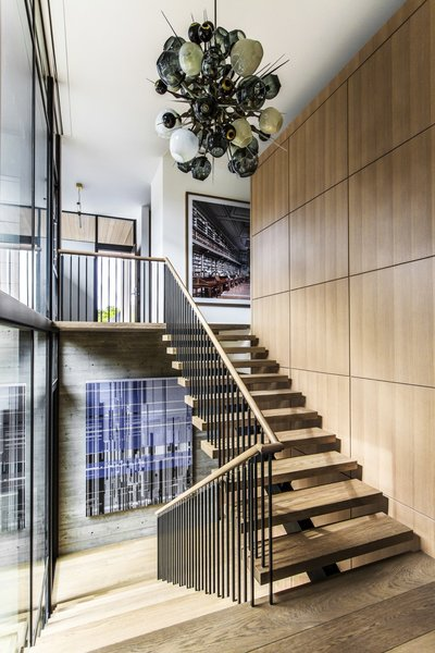 The Home Was Designed To Complement The Clientsu0027 Extensive Contemporary Art  Collection. The Pendant