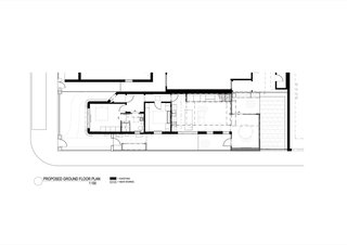 The Shadow House ground floor plan