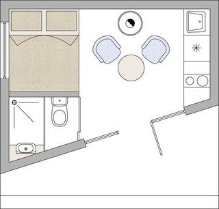 Etno Hut floor plan.