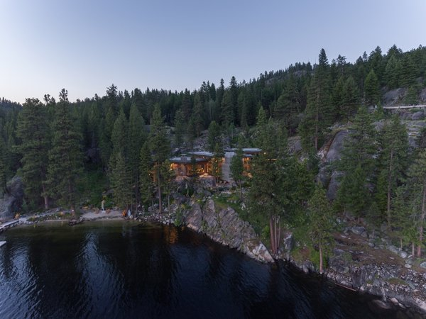 Located in Western Idaho, the Cliff House faces views of Payette Lake toward the south and west, while vast granite and dense forest flank the property to the north and east.