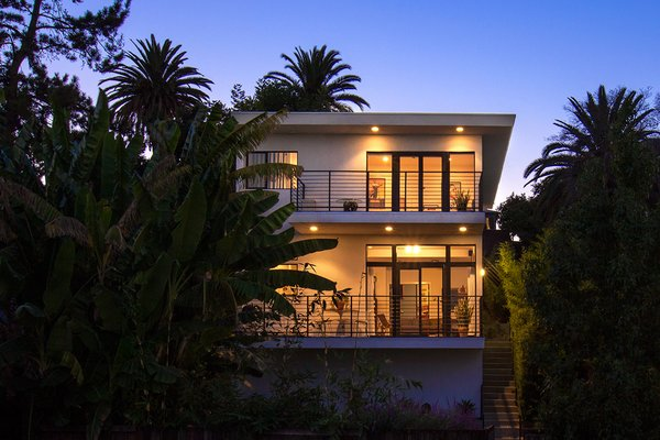 Located in the Silver Lake neighborhood of Los Angeles, Davis is a compact, two-story home that features reclaimed hardware and fixtures in a contemporary setting.