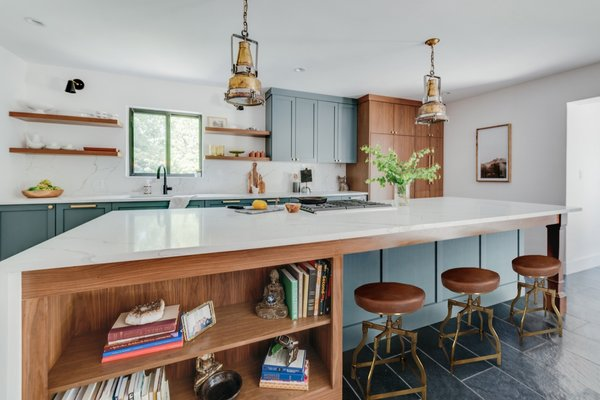 """The kitchen is unique and hits all the marks for the perfect space to entertain guests,"" Janie explains. ""I love to cook, so, naturally, the kitchen is my favorite part of the house."""