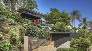 Kristen Wiig's Restored Silver Lake Midcentury Home Asks $5.1M