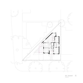 Platform House ground floor plan