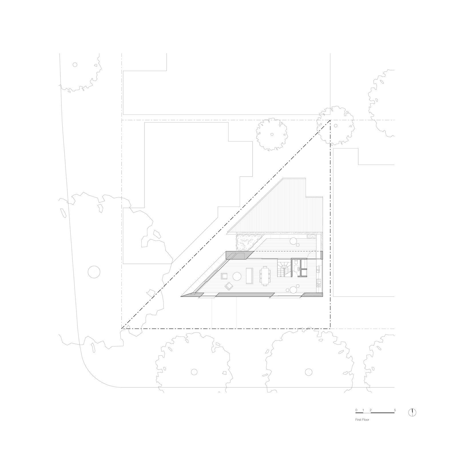 Platform House first floor plan