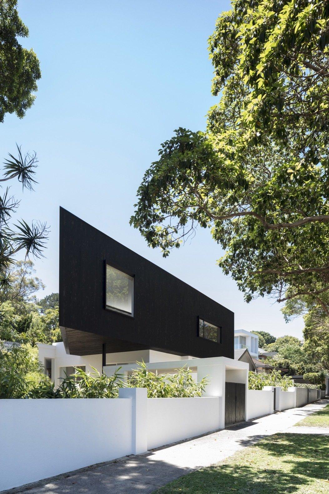 Platform House shou sugi ban exterior