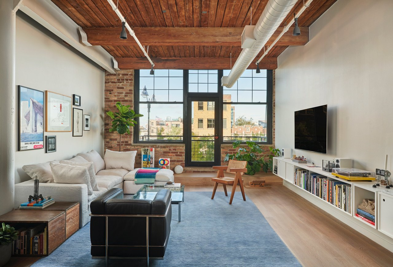 West Loop Loft living area