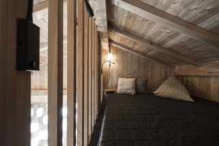 Some rooms have a small loft that can be used as a bedroom for children.
