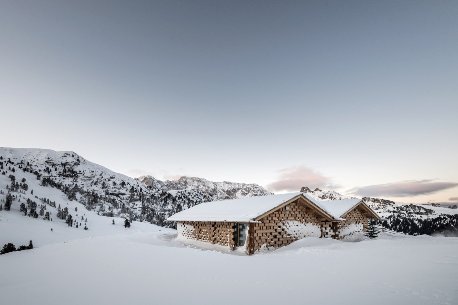 Escape to a Winter Fairytale at This Eco Retreat in the Italian Alps