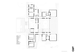 Red Hill Farm House ground floor plan