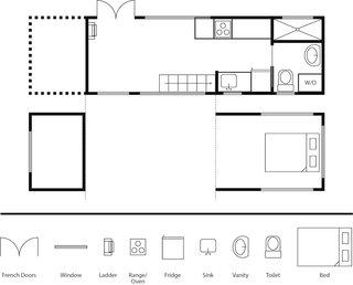 Tiny House Maui floor plan