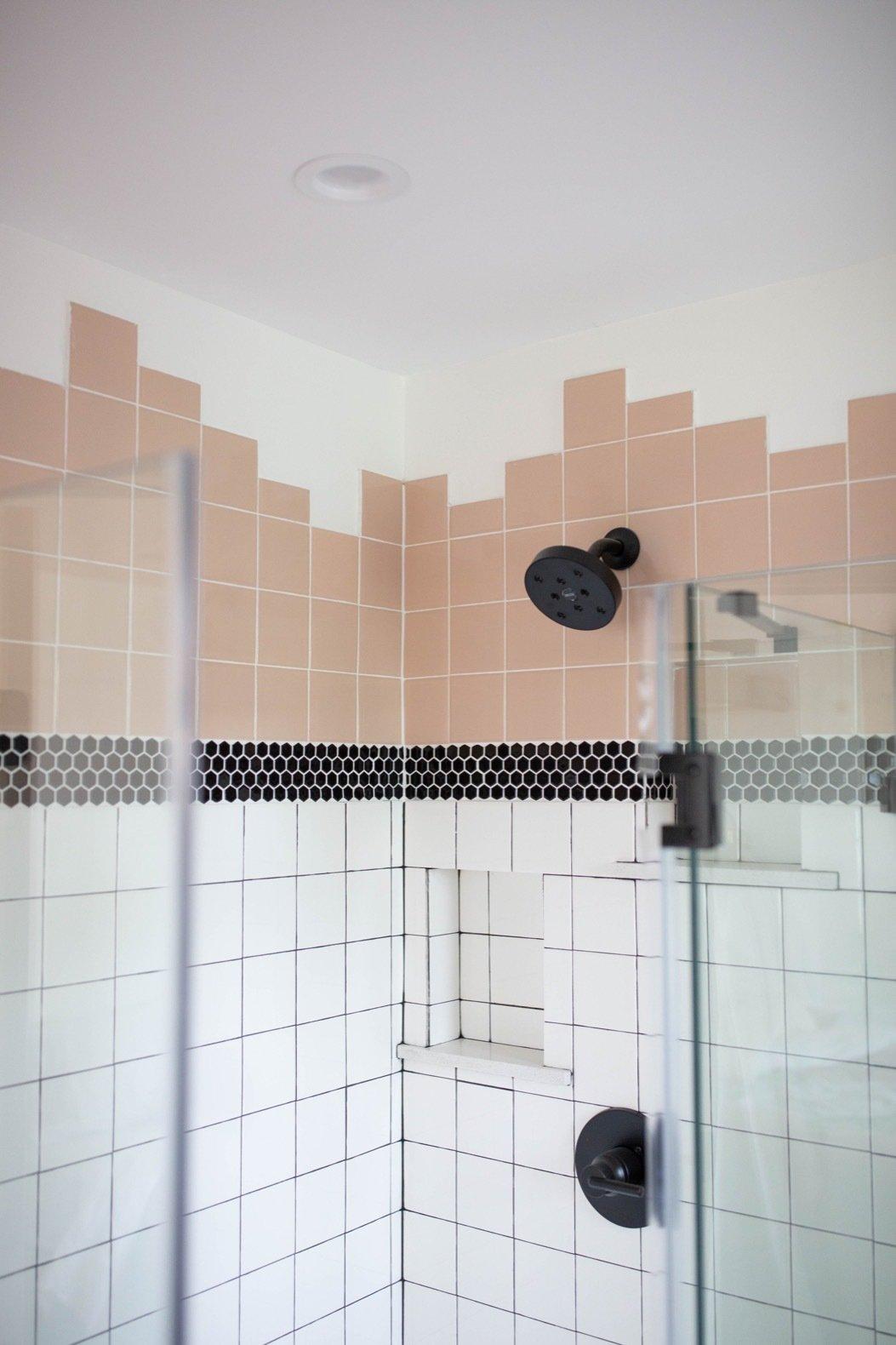 Louise Avenue bathroom tile