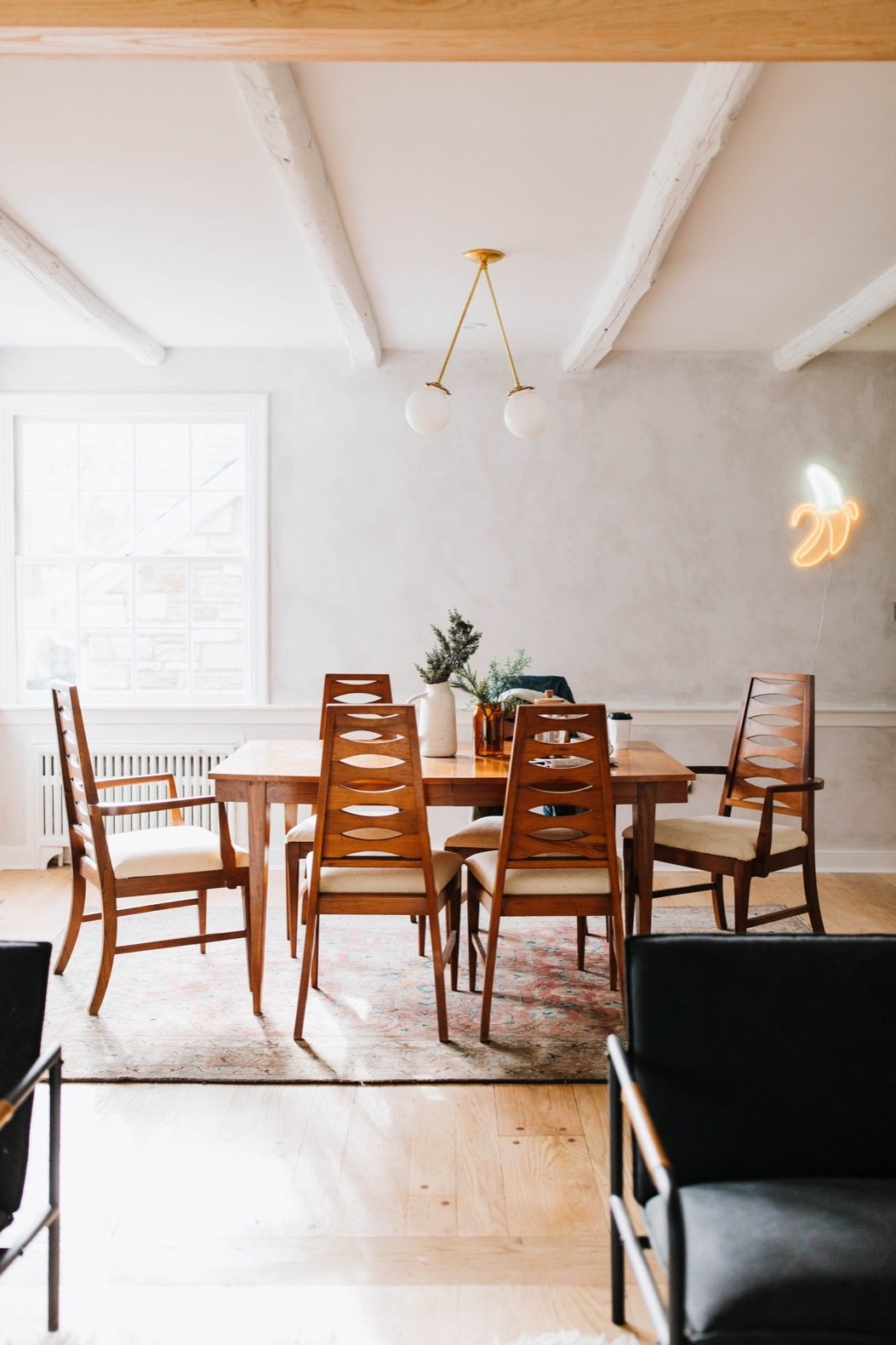 Louise Avenue dining room