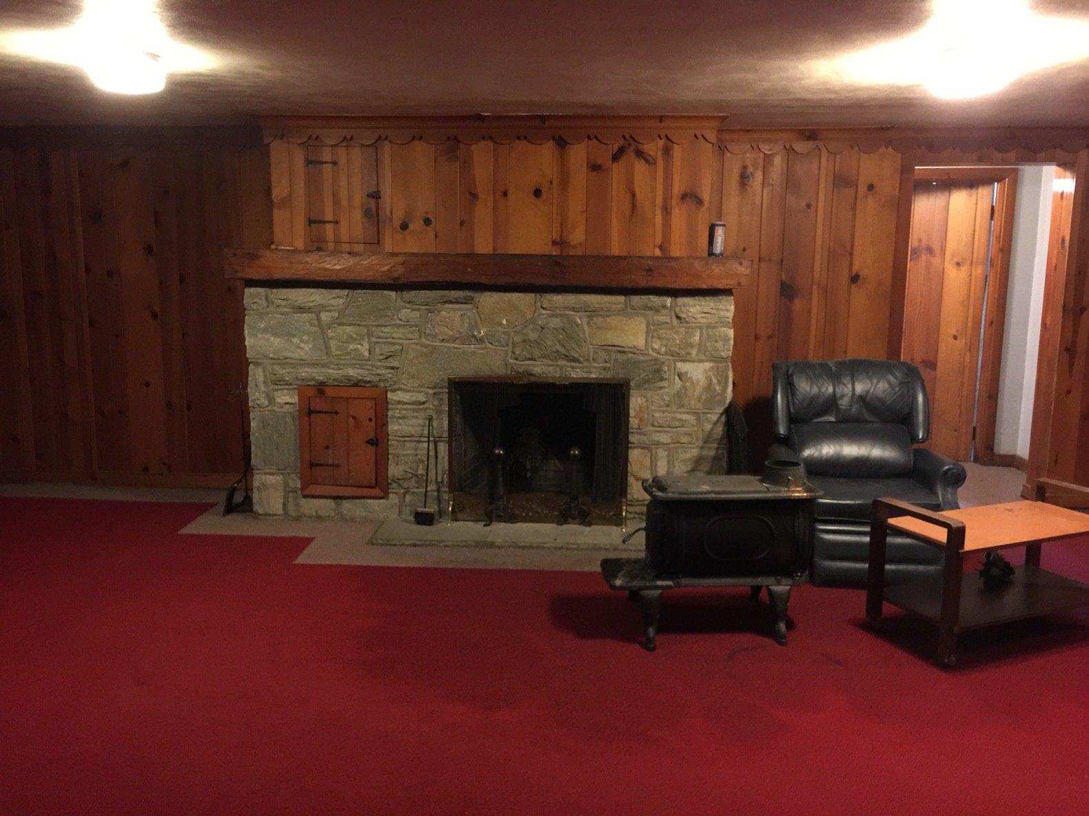 Before: Louise Avenue basement